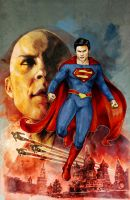 Smallville: Alien #1 by gattadonna