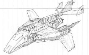 Armored Dropship by DissidentZombie