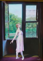 ballet at the chateau by cyndavalle