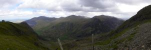 View from Snowdon 02 by kayakmad