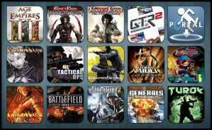 Game Aicon Pack 13 by HarryBana