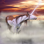 The Fog Unicorn by SynligSprinkler