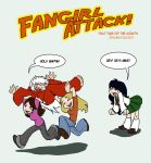 JANUARY TOPIC: FANGIRLS ATTACK by ThatTime