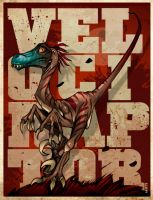 Velociraptor by thenota