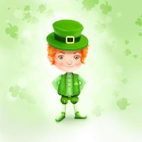 Young Leprechaun by MadOyster