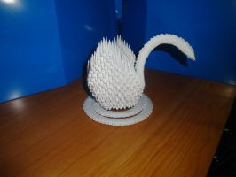 Origami Swan by Path-of-Sendo