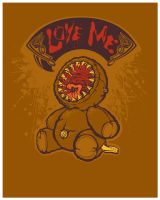 Loving Lamprey Bear by pseudo-manitou