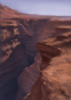 Canyon - Landscape Practice by characterundefined
