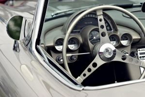 Corvette Interior Detail by FrancesColt