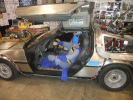 Armageddon Expo 2012 - Batman goes in the future by fulldancer-alchemist