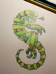 Robotic Chameleon by TuffJuice