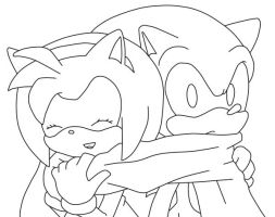 Sonic and Amy Love by SonicTheHedgeSantos
