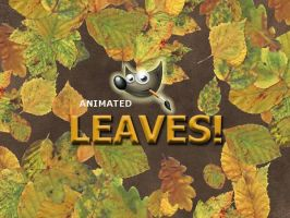 GIMP-Leaves-Brush by Chrisdesign