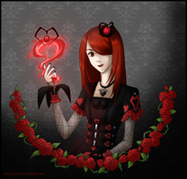 The Queen of Hearts by KazumiAkai