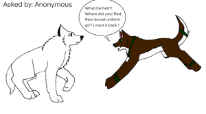 Wolf Tracks-question 1- by alicesapphriehail