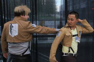 AAA - SenshiCon 2013, Hey Man, What The! by AussieDidge