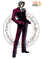 Miles Edgeworth MVC3 by Archaois