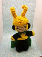 Loki from Thor and The Avengers! by Spudsstitches