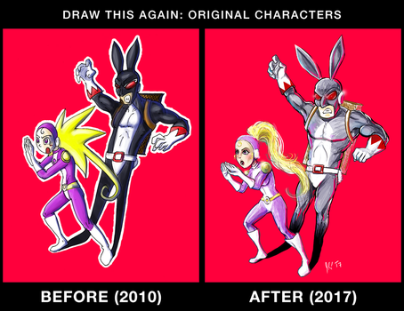 Draw this again challenge by LeMalinPotiron