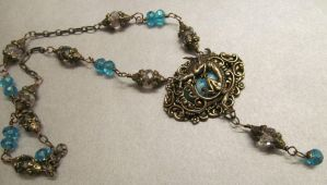Guardian of the Sea Full Necklace by Gypsywrytr