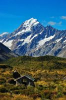 Mount Cook, New Zealand by samtihen