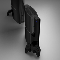 PS3 black by eswallace2001
