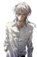 Psycho Pass - Makishima Shougo render by joanah009