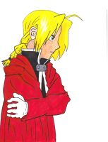 Edward Elric -colored- by Resa-chan