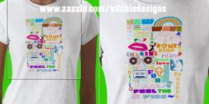 T-Shirt: New Rave by Vilchis