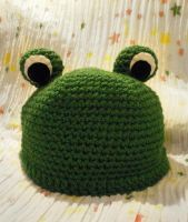 Froggy Hat by WollMia