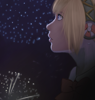 Aegis and Fireworks by SoftCloudProject