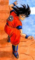 Goku - Fighting Stance by Jaylastar