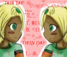 Twin Day by Jazzy-TehFig