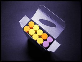 Colored Chalks by knechtrootrecht
