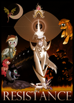 Resistance Poster by Archaeidae