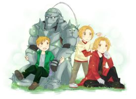 FMA - past, present by rainbowstone