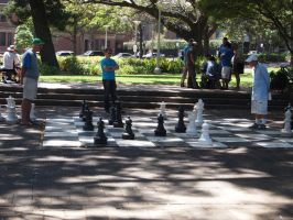Chess in the park by JolanthusTrel