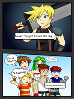 Super Smash Bros DLC welcomes Cloud Strife!! by coDDRy