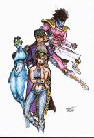 Stone Ocean by Massimo-Weigert
