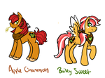 Apple Twins by flaredrake20