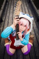Sweet Super Sonico Cosplay by K-I-M-I