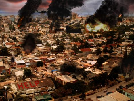 Angolan Suffering by BeignetBison