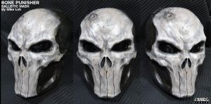 Bone Skull Punisher Ballistic Mask by Uratz-Studios