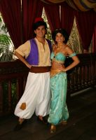 Aladdin and Jasmine 03 by DisneyLizzi