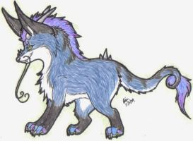I'm not fat, I'm fluffy by Wolf-mutt