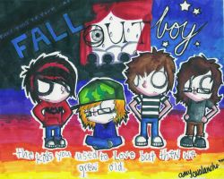 FALL OUT BOY ILY by undeadamy