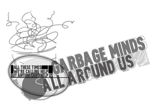 garbage minds artwork by yosungraf