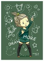 New Year's Resolutions: #3 Draw More by freeminds