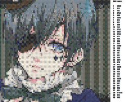 Ciel Phantomhive Pattern+colors by horrorfreakjuh