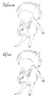 Art style advice: Lineart by CrispyCh0colate
